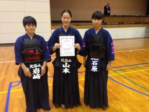 2015剣道部高校新人戦