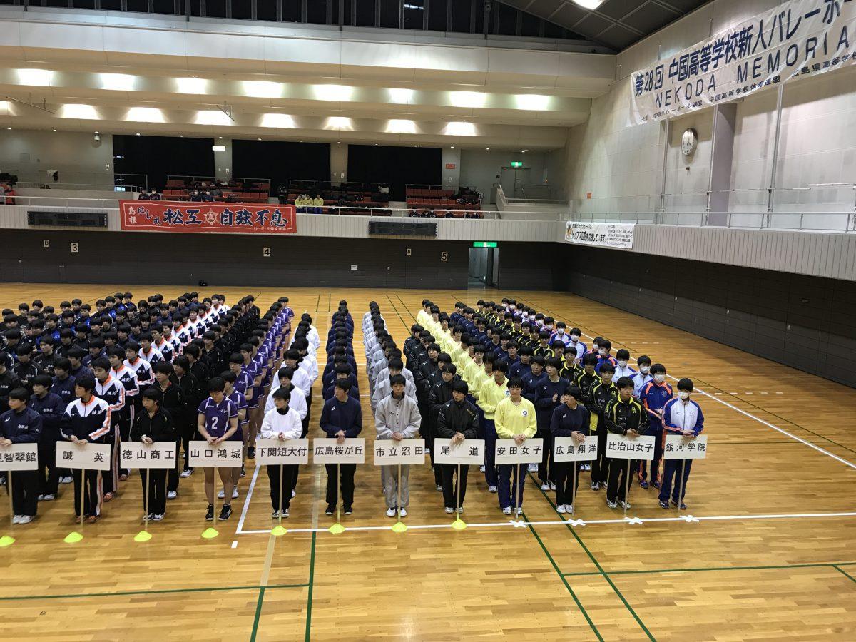 桜が丘 部 バレー 広島 高校
